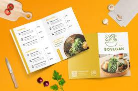 Bifold Restaurant Menu Template
