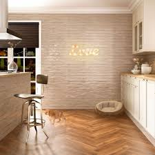 Cream Gloss Kitchen Tile Cream Gloss Tiles Rustic Metro Tiles 150x75x7mm Tiles