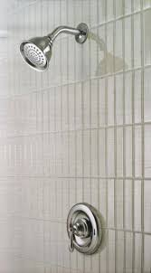 moen caldwell shower head chrome finish faucet brushed nickel