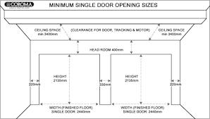 standard garage door sizes geekgorgeous amazing ideas design