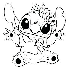 Coloring Pages Printable Sheets Free Stitch Cute Coloring Pictures
