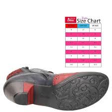 Rieker Shoe Size Chart Rieker Y7211 35 Wine Navy Rot Schwarz Bordeaux