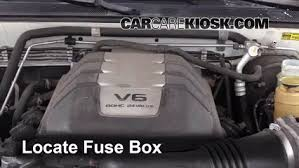 replace a fuse 1998 2004 isuzu rodeo 2001 isuzu rodeo ls 3 2l v6 locate engine fuse box and remove cover