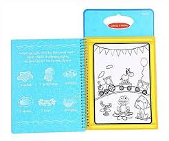 universal reusable children coloring doodle activity magic water drawing book kids painting board