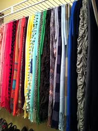 Scarf Storage - why didn't I think of that! This is the exact