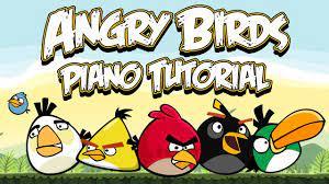 ANGRY BIRDS THEME - Piano Tutorial - YouTube