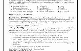 Human Resource Generalist Resume Sample Unique Entry Level