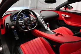 In depth review interior exterior & Barely Run In Red And Black Bugatti Chiron Will Cost You 3 1 Million Carscoops
