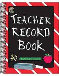 Teacher Record Teacher Record Book By Teacher Created Resources Organizer