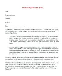 Printable Employee Write Up Form Formal Template Lab Example Biology