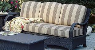 Braxton Culler Shorewood Tropical Rattan Chair And Ottoman Set Braxton Outdoor Furniture
