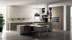 scavolini mood kitchen light scavolini contemporary kitchen. The Areas Clad With Warm Tussah Walnut, I.e. Wall Units, Tall Units And Panels Of This Imposing Composition. Everything Is Enhanced By Scavolini Mood Kitchen Light Contemporary