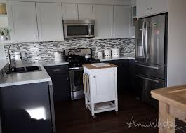 kitchen island cart white. Ana White | HOW TO: Small Kitchen Island Prep Cart With Compost - DIY  Projects Kitchen Island Cart White