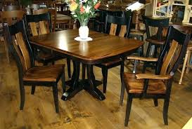 amish dining room tables table plans sets round and chairs outdoor made kitchen winsome amish dining room tables