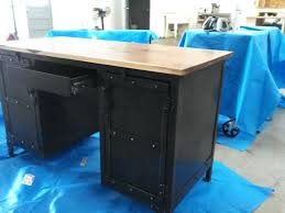 custom office tables. Exciting Custom Made Industrial Steel Walnut Desk Office Furniture Conference Table Dining Elegant Tables A