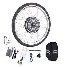 new electric bicycle hub motor bike conversion kit ebike front 48v 1000w 26 com