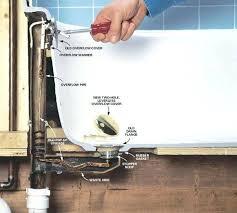 bathtub drain leaking bathtub drain leaking how to fix gerber bathtub drain stopper repair