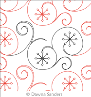 Digital Quilting Design Twinkling Snowflakes by Dawna Sanders ... & Digital Quilting Design Twinkling Snowflakes by Dawna Sanders. Adamdwight.com