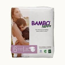 Bambo Nature Baby Diapers 6 Xl 22pcs