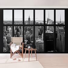Heimwerker New York Fototapete Selbstklebend Fenster New York Empire
