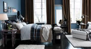 bedroom blue brown white bedroom interior design ideas with black wooden floor blue brown white
