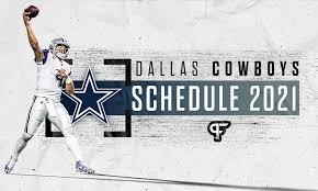dallas cowboys schedule 2021 dates