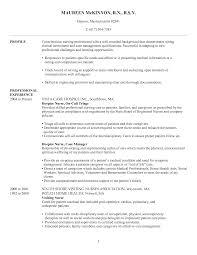 Sample Rn Nursing Resume Resume Samples