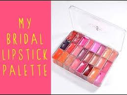 my bridal makeup kit mac cosmetics lipstick palette