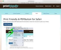 How Do I Print From My Ipad Printfriendly Pdf Bookmarkletprint Friendly Pdf Button For