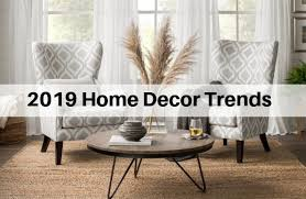 19 home decor trends for 2019