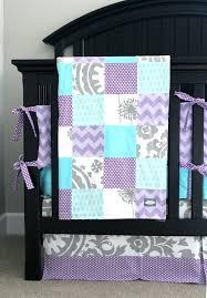 purple aqua crib bedding images of custom baby and grey by purple aqua crib bedding images of custom baby and grey by
