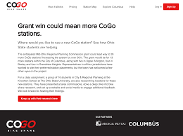 cogo bike share features osu student effort online cogo network cogo bike share has featured our work on their website encouraging people to get involved and keep up our research