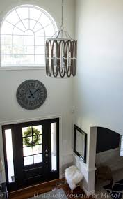 2 story foyer chandelier. Coastal Foyer Light Shades Of 2 Story Chandelier