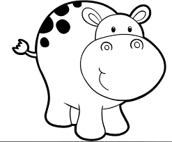 42 Hippopotamus Coloring Pages Free Coloring Pages Of Hippo Face