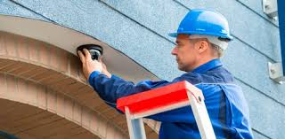 security installation. security camera system installation n
