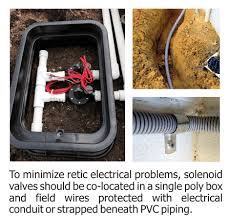 how to improve your garden reticulation system perth wa reticulation electrics and solenoid valves