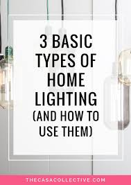 types of home lighting. Lighting Is One Of The Most Important Aspects Any Room Design. Discover Fundamental Types Home T