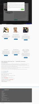 Web Design West Lothian Alex Nangle Electrical Limited Competitors Revenue And