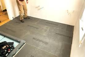 radiant floor heating cost per square foot electric flooring calculator flo