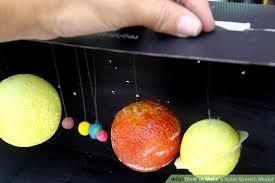 Resultado de imagen de solar system model
