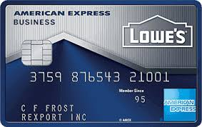 Lowes Commercial Credit Card Application American Express Lowes Business Rewards Card