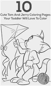 Tom And Jerry Coloring Pages Admirably Kolorowanka Tom I Jerry