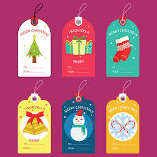 Christmas Gift Labels Templates Word Free Christmas Gift Tag Templates Editable Printable