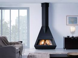 Modern Black Fireplaces By Rocal - Pepi Home Decor Designs