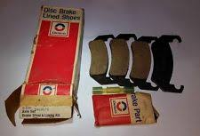 cosworth vega motors nos 1971 1977 chevrolet vega vegagt cosworth vega front brake pads 345116 361094