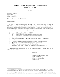 Informational Interview Request Email Template Email Template Requesting Information