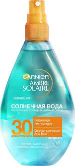 "<b>Garnier Солнцезащитный</b> спрей для тела ""<b>Ambre Solaire</b> ..."