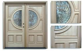 exterior double doors. Double French Doors Exterior Door For Wooden
