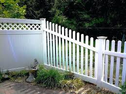 vinyl fence topper best vinyl fence images on vinyl lattice fencing vinyl fence block wall topper