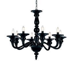 black chandelier simple black chandelier l64